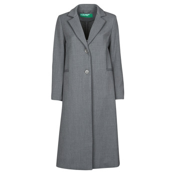 textil Mujer Abrigos Benetton  Gris