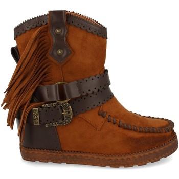 Zapatos Mujer Botines Tephani 1976A Camel