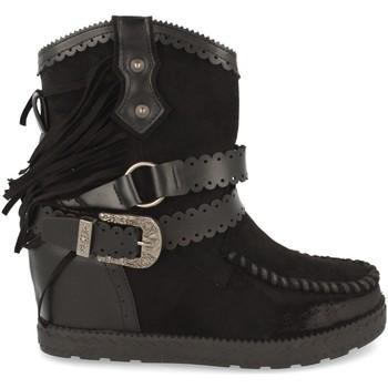 Zapatos Mujer Botines Tephani 1976A Negro
