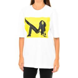 textil Mujer Camisetas manga corta Calvin Klein Jeans Camiseta Manga Corta Calvin Klein Multicolor