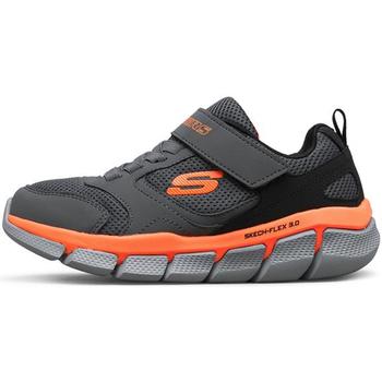Zapatos Niño Zapatillas bajas Skechers - Flex 3.0 tur grigio 97636L CCBK GRIGIO