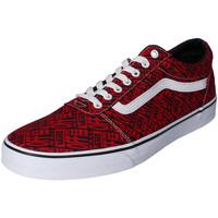 Zapatos Niño Zapatillas bajas Vans - Ward rosso VN0A38J914Z1 ROSSO