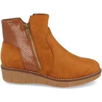 Zapatos Mujer Botines Clowse 9B1111 Camel