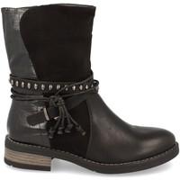 Zapatos Mujer Botines Ainy 6935 Negro