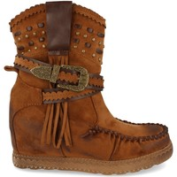 Zapatos Mujer Botines Ainy 9706 Camel