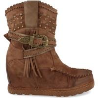 Zapatos Mujer Botines Ainy 9706 Kaki
