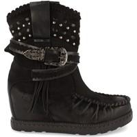 Zapatos Mujer Botines Ainy 9706 Negro