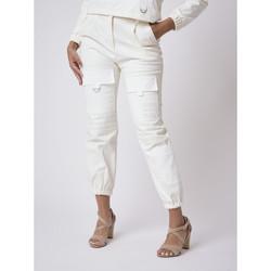 textil Mujer Pantalones Project X Paris  Blanco