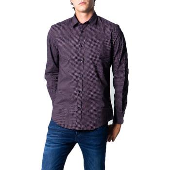 textil Hombre Camisas manga larga Antony Morato MMSL00610-FA430439 Nero