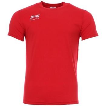 textil Hombre Camisetas manga corta Hungaria  Rojo