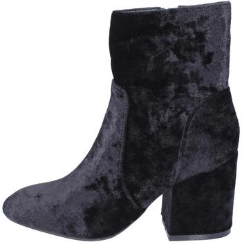 Zapatos Mujer Botines Francescomilano BK345 negro