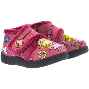 Zapatos Niños Pantuflas Plumaflex By Roal Zapatillas de Casa Roal 12003 Princesas Rosa