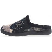 Zapatos Niños Pantuflas Plumaflex By Roal Zapatillas de Casa Roal 12229 Negro Negro