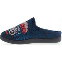 Zapatos Hombre Pantuflas Plumaflex By Roal Zapatillas De Casa Roal 12229 Moto Marino Azul