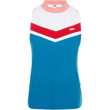 textil Mujer Camisetas sin mangas Vans T-Shirt  WM Invert Tank Blues Sapphire