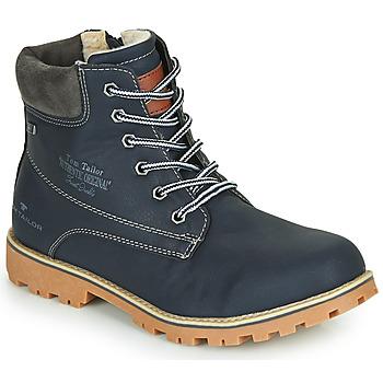 Zapatos Niño Botas de caña baja Tom Tailor 70502-NAVY Marino