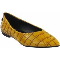 Zapatos Mujer Bailarinas-manoletinas Xti Zapato señora  44663 mostaza Amarillo
