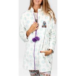 textil Mujer Pijama Admas Chaqueta de interior Los Zorros Santoro Azul Ciel