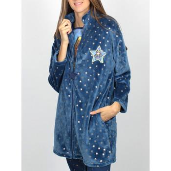 textil Mujer Pijama Admas Sólo porque la chaqueta azul de Santoro  lounge Azul