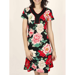 textil Mujer Vestidos Admas Vestido de verano manga corta los  Nightflower Marfil