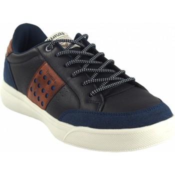 Zapatos Hombre Zapatillas bajas Yumas Zapato caballero  osaka azul Azul