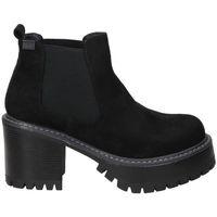 Zapatos Mujer Botines Emmshu BOTINES  HEAT MODA JOVEN BLACK Noir