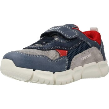 Zapatos Niño Zapatillas bajas Geox B FLEXYPER BOY A Azul