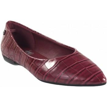 Zapatos Mujer Bailarinas-manoletinas Xti Zapato señora  44663 burdeos Rojo