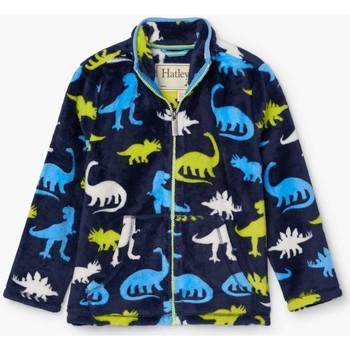 textil Niño Pijama Hatley Sudadera Polar  Silhouette Dinos PDK241 Dinos