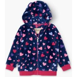 textil Niña Polaire Hatley Sudadera Polar  Confetti Hearts CFK1551 Love