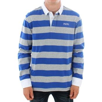 textil Hombre Polos manga larga Pepe jeans FERDINAN PM541219 593 ROYAL BLUE Azul