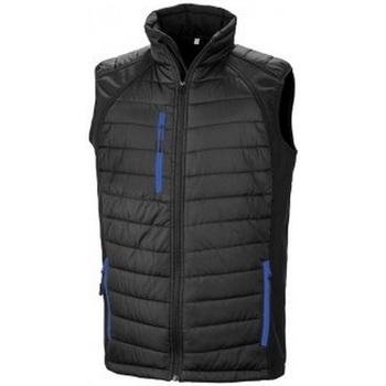textil Hombre Chaquetas de punto Result R238X Negro/Azul Real