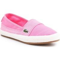 Zapatos Mujer Alpargatas Lacoste Marice 7-35CAW004213C rosado