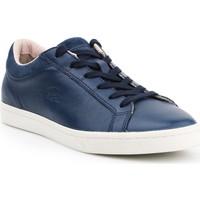 Zapatos Mujer Zapatillas bajas Lacoste Straightset 7-30SRW0028003 azul marino