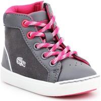 Zapatos Niños Zapatillas altas Lacoste Explorateur 7-32CAI1001248 gris