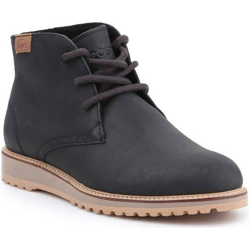 Zapatos Mujer Botas de caña baja Lacoste Manette 7-34CAW0038024 Navy blue