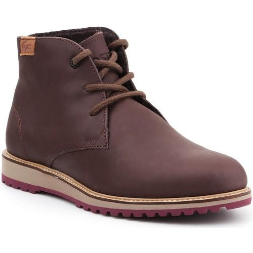 Zapatos Mujer Botas de caña baja Lacoste Manette 7-34CAW0038176 marrón