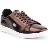 Zapatos Mujer Zapatillas bajas Lacoste Carnaby Evo 7-30SPW4110DB2 marrón