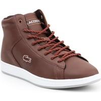 Zapatos Mujer Zapatillas altas Lacoste Carnaby EVO 7-30SPW411377T marrón