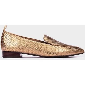 Zapatos Mujer Mocasín Pedro Miralles Amberes Doré