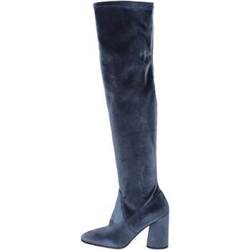 Zapatos Mujer Botas Elvio Zanon BK375 Gris