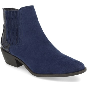 Zapatos Mujer Botines H&d YZ19-215 Azul