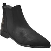 Zapatos Mujer Botines Folies Impac Terciopelo negro
