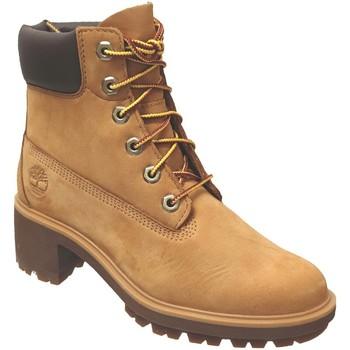 Zapatos Mujer Botines Timberland Kinsley 6 inch terciopelo amarillo