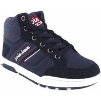Zapatos Niño Zapatillas altas Lois Botín niño  63083 azul Azul