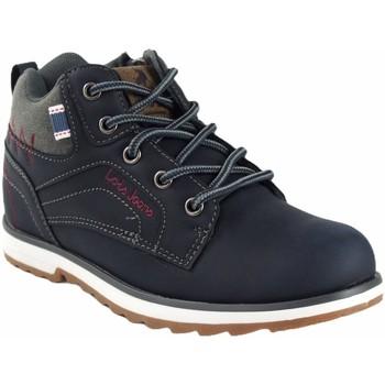 Zapatos Niño Botas de caña baja Lois Botín niño  63095 azul Azul