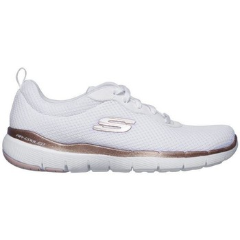Zapatos Mujer Zapatillas bajas Skechers Flex Appeal 3.0 - First Insight. 13070 Blanco
