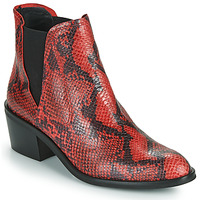 Zapatos Mujer Botas de caña baja Fericelli NIAOW Negro / Rojo