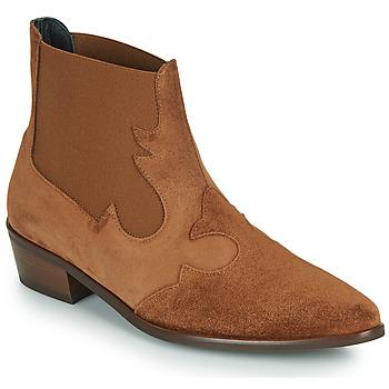 Zapatos Mujer Botas de caña baja Fericelli NANTIAG Camel