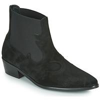 Zapatos Mujer Botas de caña baja Fericelli NANTIAG Negro